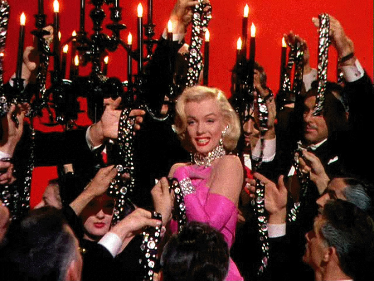 Marilyn Monroe: Gentlemen Prefer Blondes