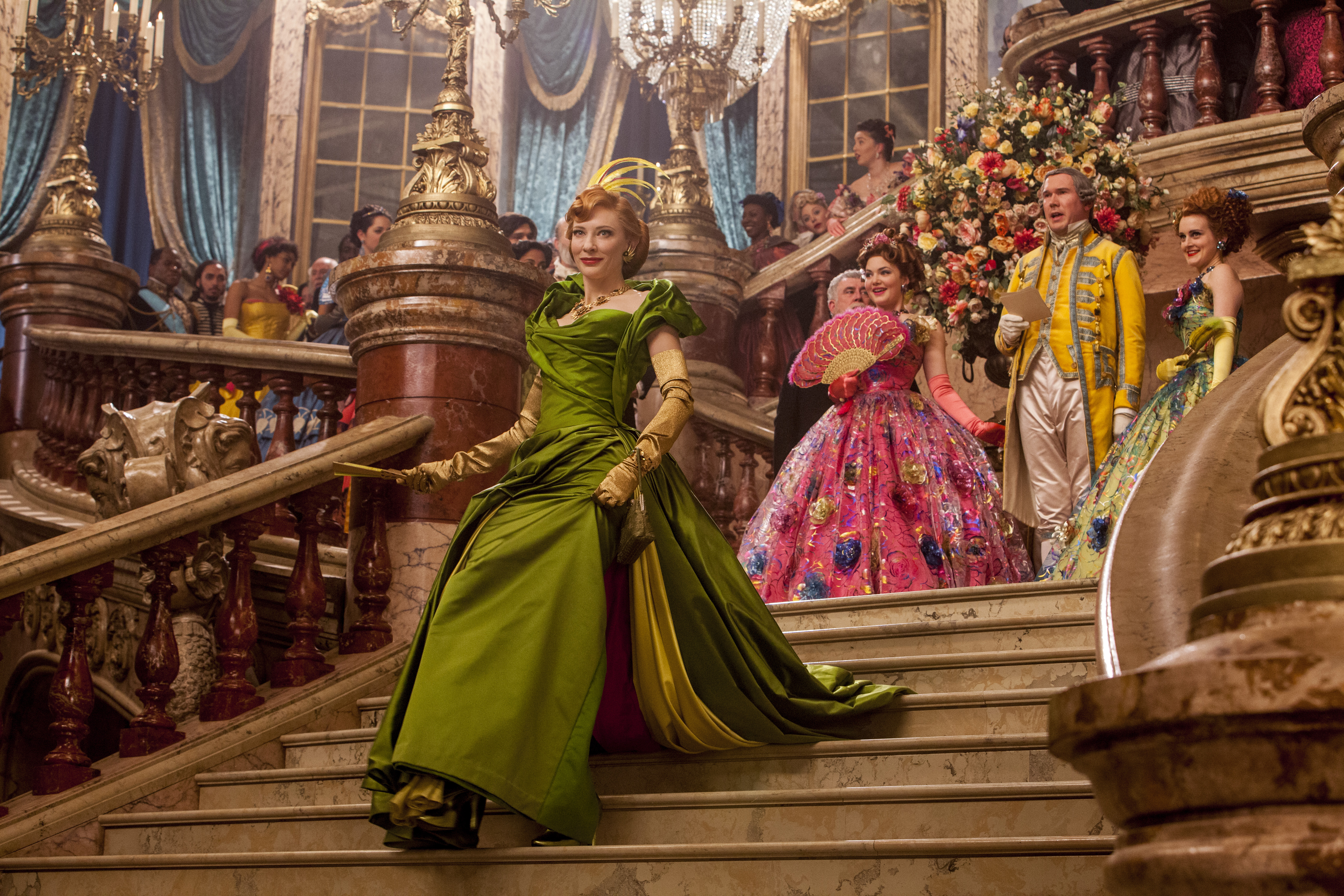 Costume design defined the characters in Cinderella