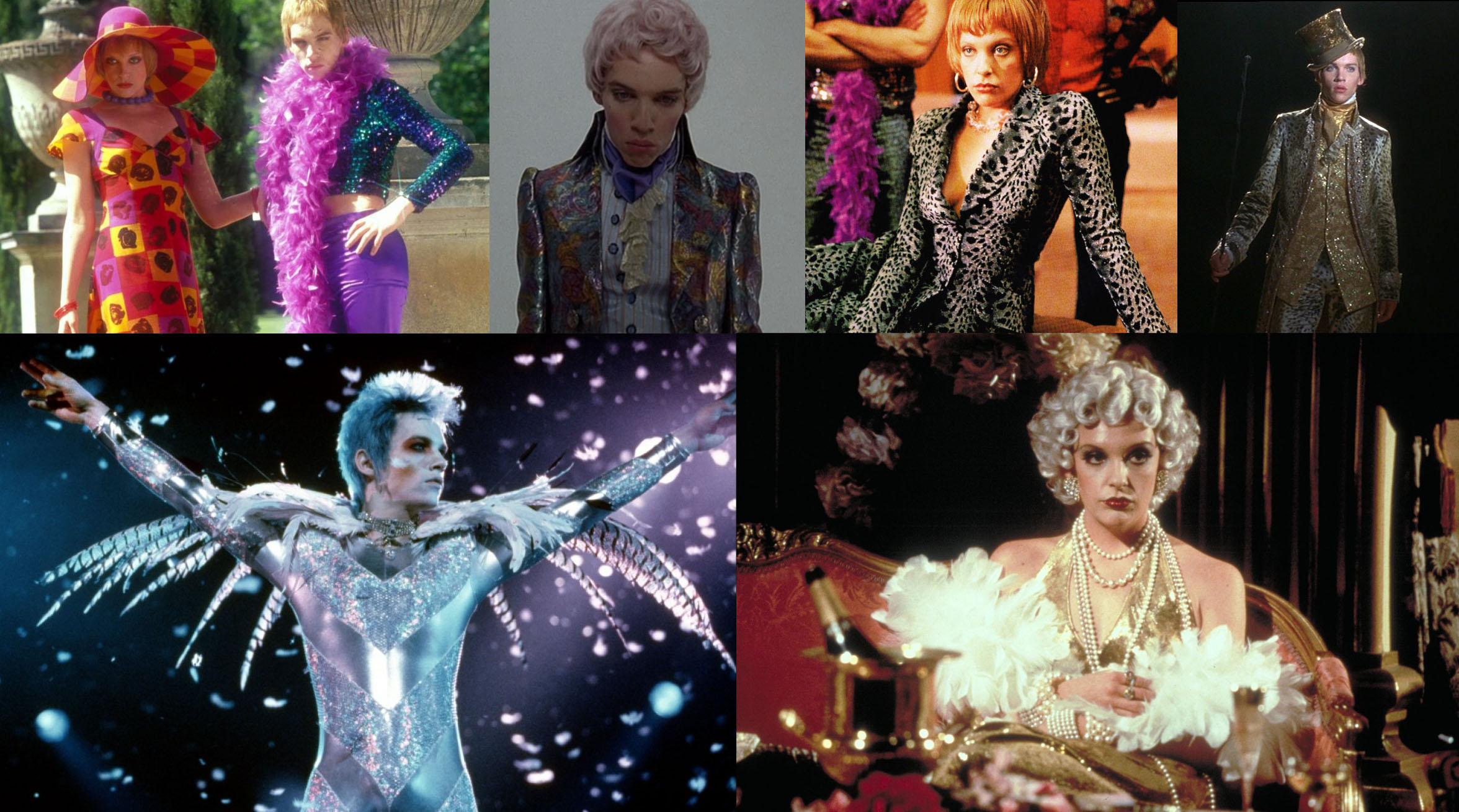 Costume designs bring visions and eras to life in Velvet Goldmine