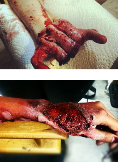 Gruesome special effects