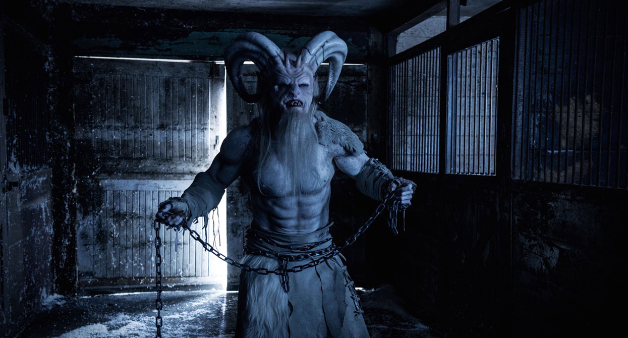 Krampus in pop culture, appearance #1: A Christmas Horror Story