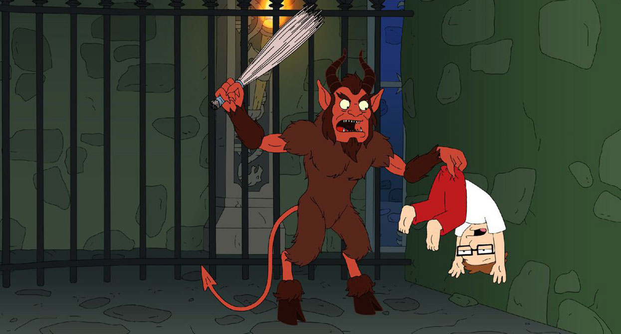 Krampus in pop culture, appearance #4: American Dad