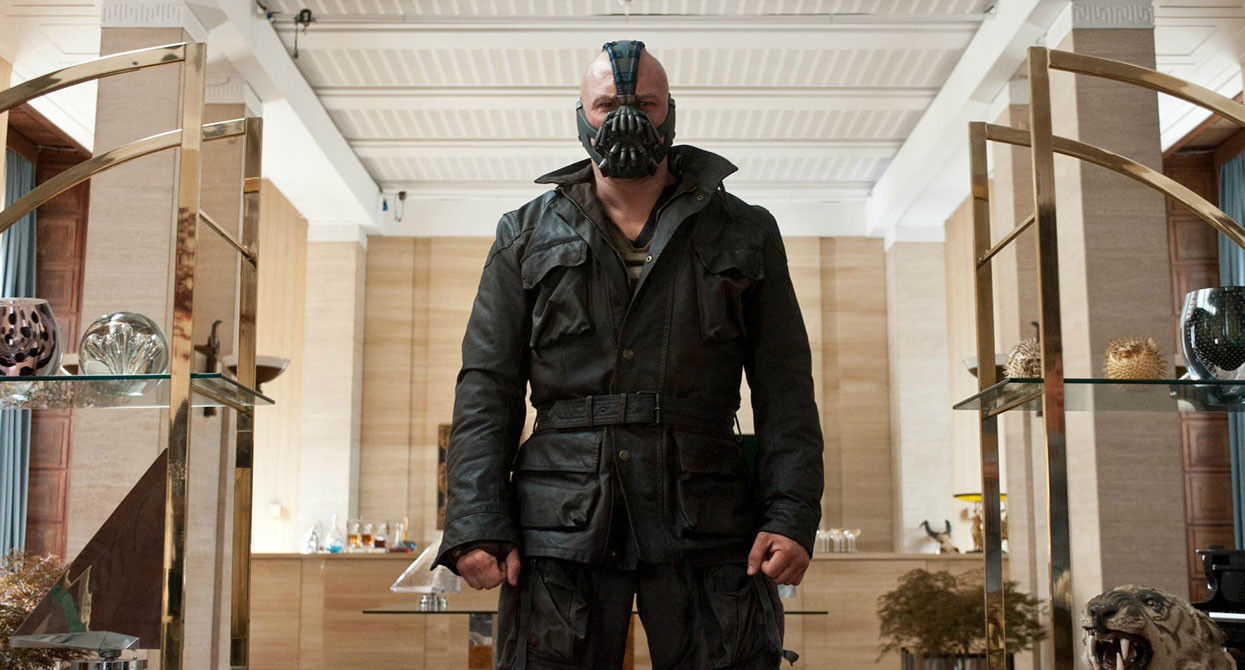 An in-depth look at Bane from The Dark Knight Rises