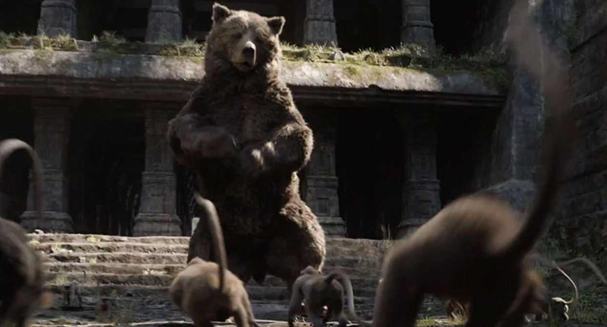 An in-depth look at Baloo from The Jungle Book